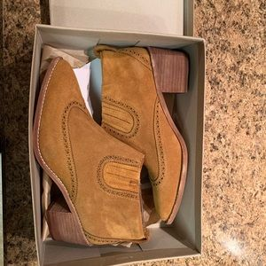 Madewell Brown Booties, size 10